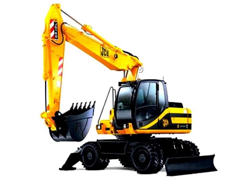 JS160W отлично подходит для тяжёлых земельных работ