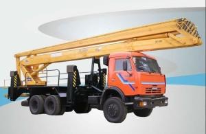 Аренда автовышки Камаз ВС-28 (локтевая)